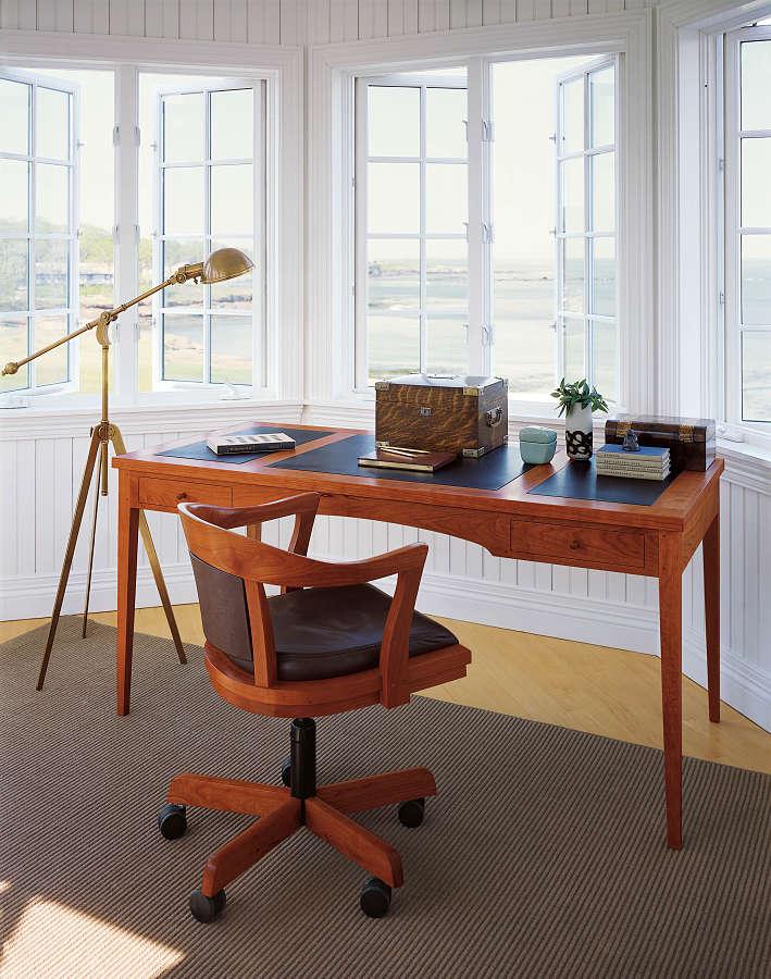 Desk With Chair Gear Desk Clock