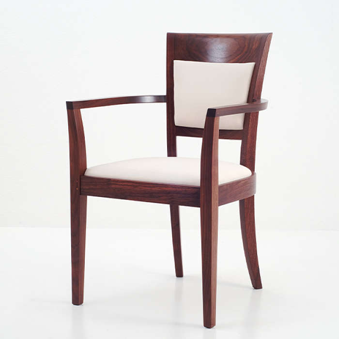 Magnificent Harpswell Arm Chair With Back Shaker Upholstered Dining Interior Design Ideas Gentotryabchikinfo