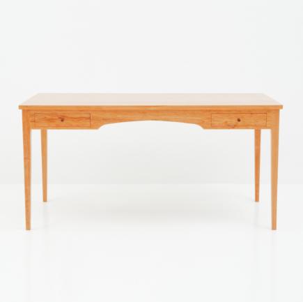 Four Leg Desk in Cherry