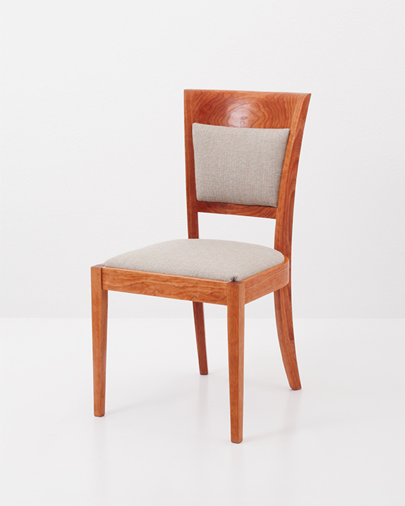 Harpswell Side Chair with Back in Cherry