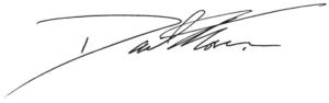 David Moser Signature