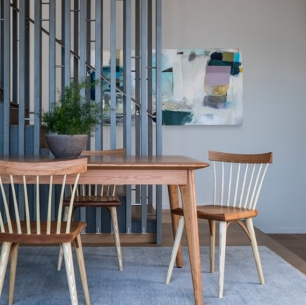 Unity Table and Eastward Studio Chairs