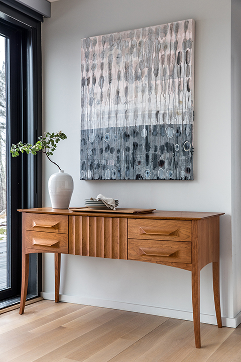 Aria Sideboard in Cherry