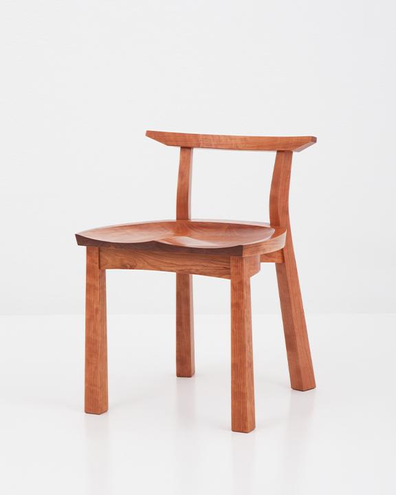 Edo Studio Chair in Cherry