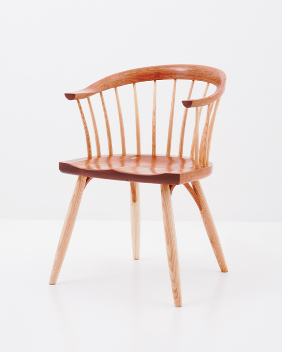 Newport Chair in Cherry