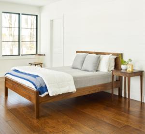 Studio Bed in Walnut