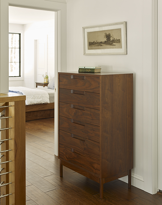 Hartford Vertical Dresser in Walnut