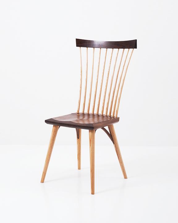 Eastward Side Chair in Walnut