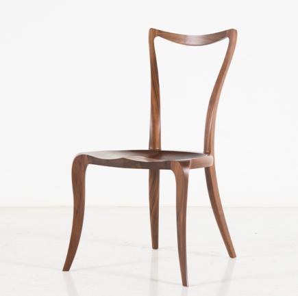 Pasadena Side Chair in Walnut