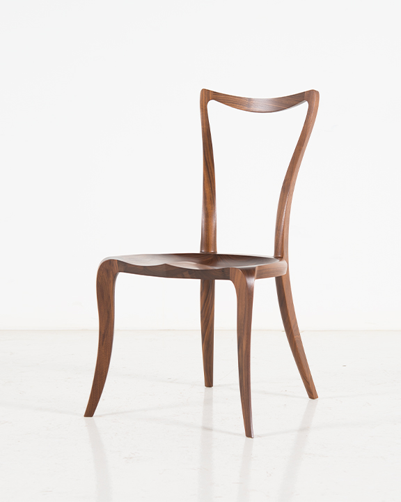 Pasadena Side Chair in Walnut