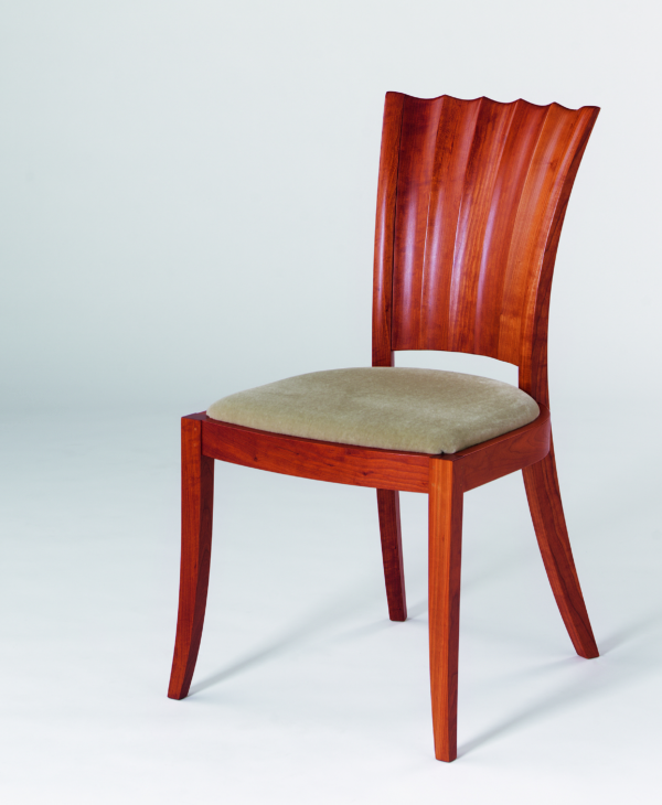 Aria Side Chair in Cherry