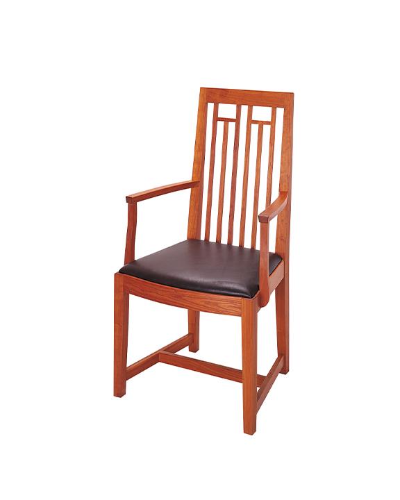 New Century Arm Chair in Cherry