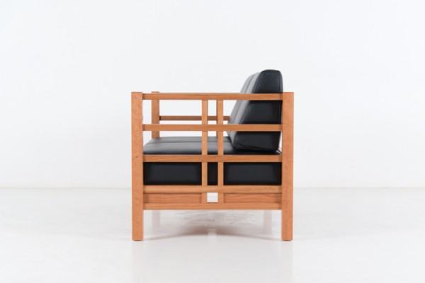 Windward Sofa - Two Place in Cherry