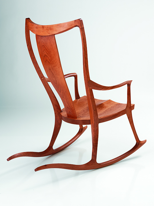 Pasadena Rocking Chair in Cherry