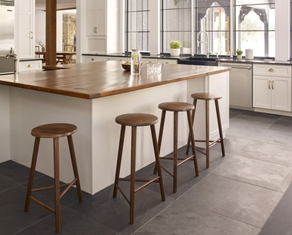Hallowell Stool in Kitchen