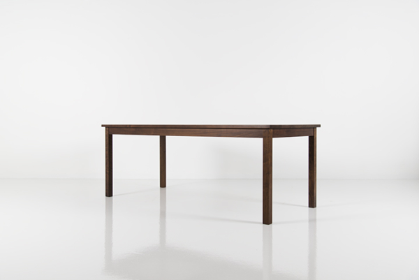 Rectangular Dining Table in Walnut