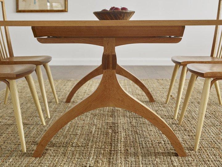 Wishbone Table Detail