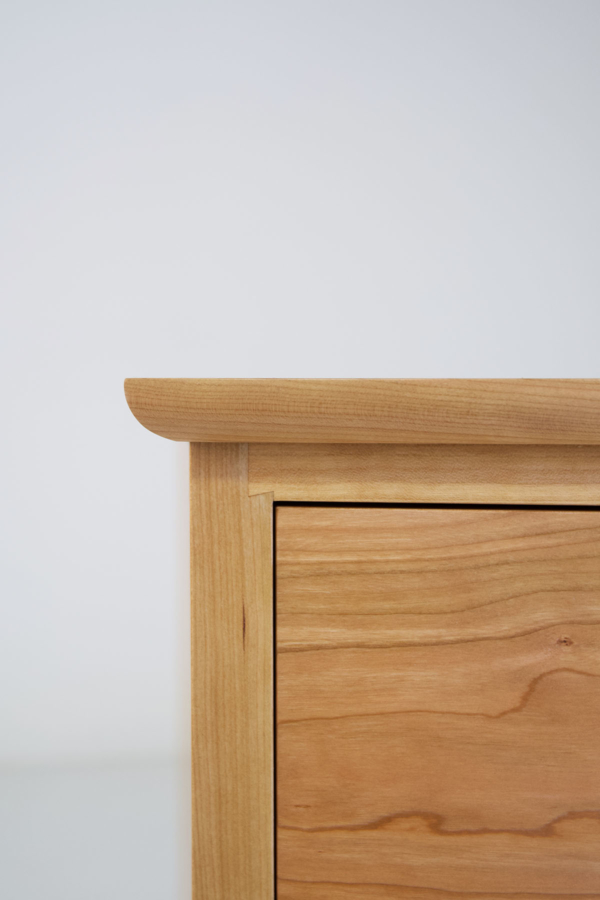 Crescent Four Drawer Bureau