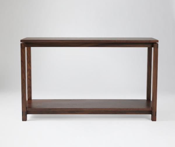 Studio Console Table in Walnut