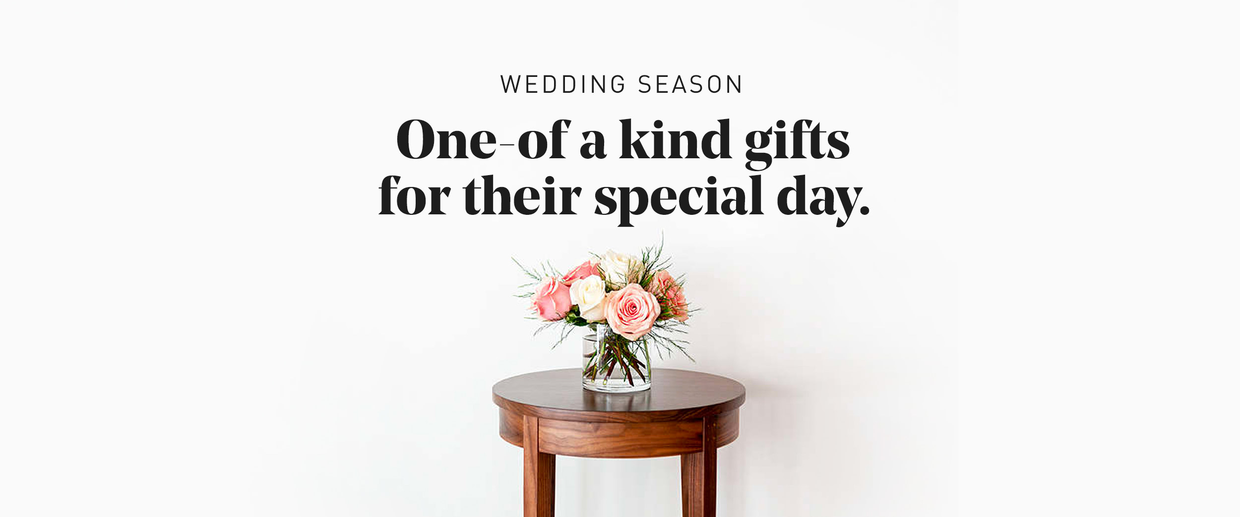 Wedding Season - One of a kind gifts for their special day