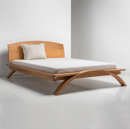 Vita Bed in Cherry