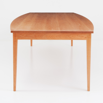 Boat Top Table in Cherry