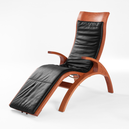 Chaise in Cherry