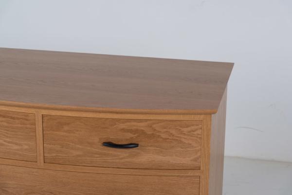 Crescent Six Drawer Bureau