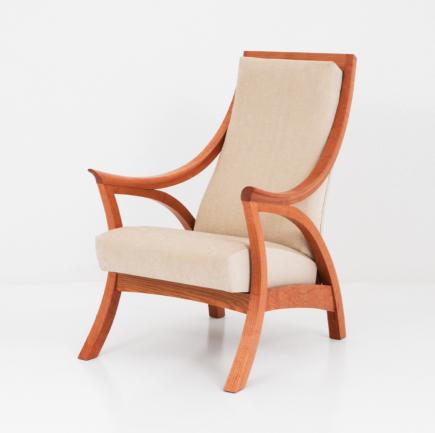 Drift Chair in Cherry