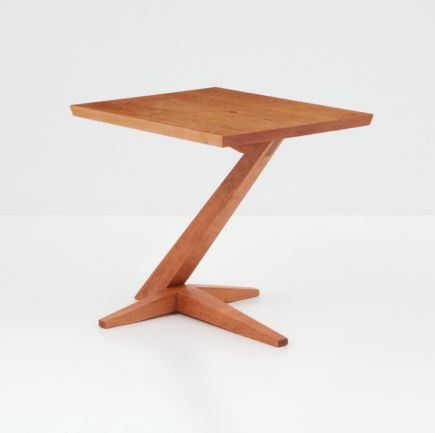 Edo Cantilever Side Table in Cherry