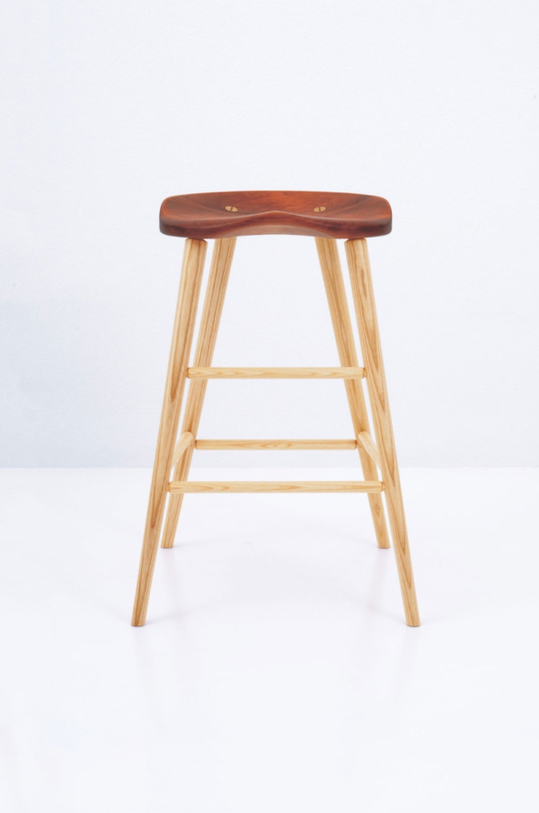High Stool - Cherry