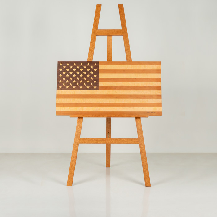 Tom's American flag