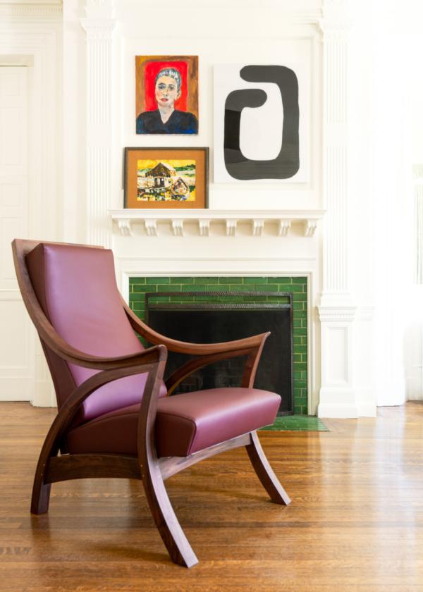 Drift Chair in Walnut