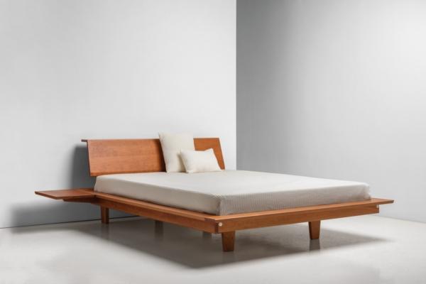 Edo Platform Bed - Cherry
