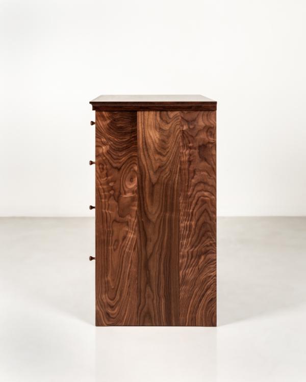 Five Drawer Dresser in Walnut