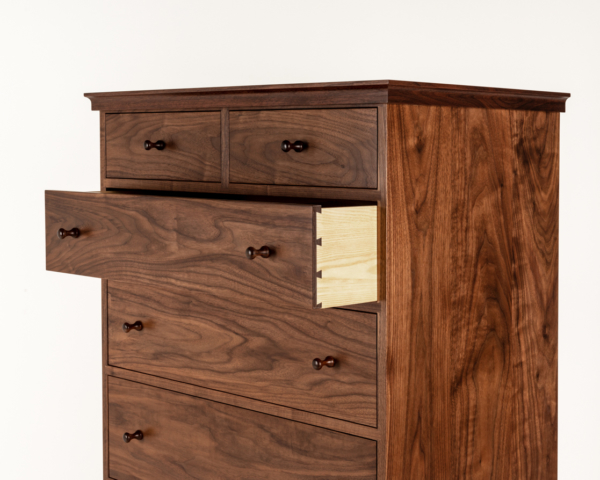 Seven Drawer Dresser in Walnut