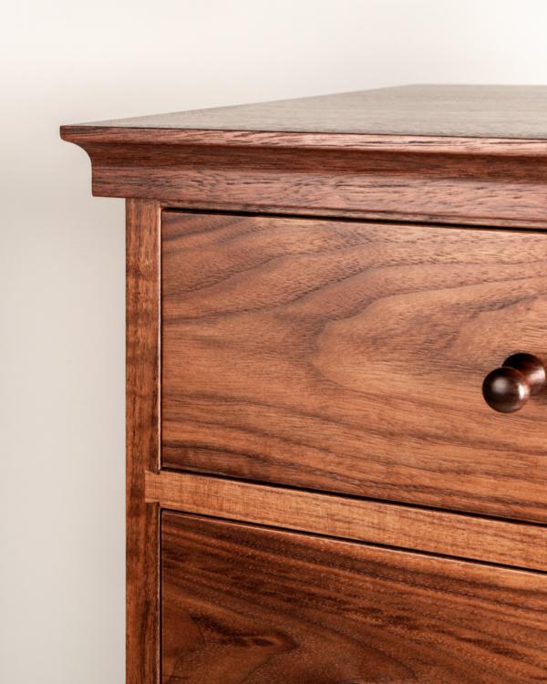 Seven Drawer Dresser in Walnut