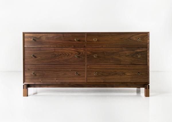 Studio Dresser - Horizontal in Walnut