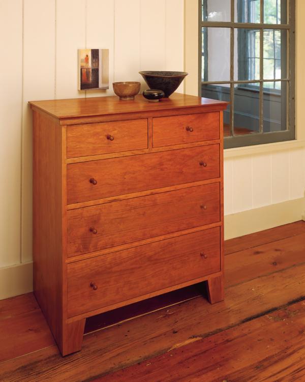 Five Drawer Dresser