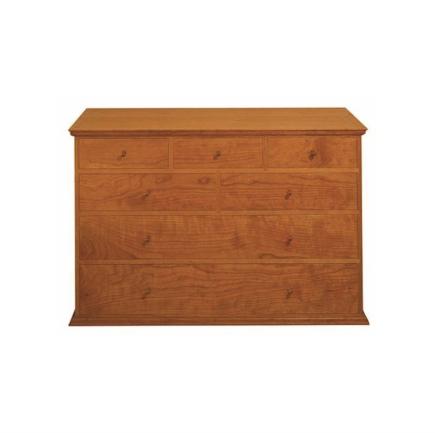 Seven Drawer Dresser - Cherry
