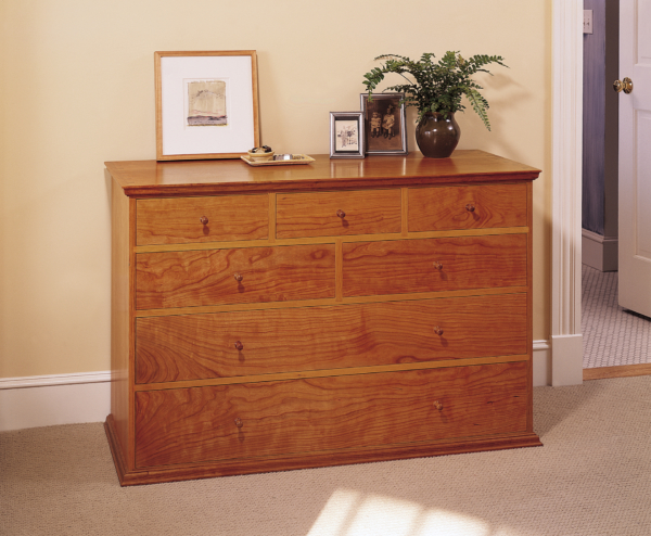 Seven Drawer Side Chest