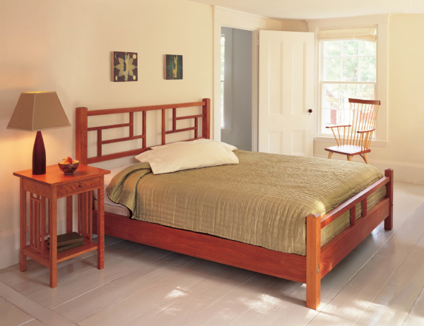New Century China Bed