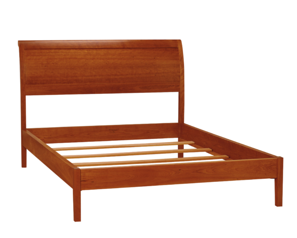 Sleigh Bed - Flat Footboard
