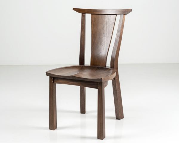 Edo Dining Chair in Walnut