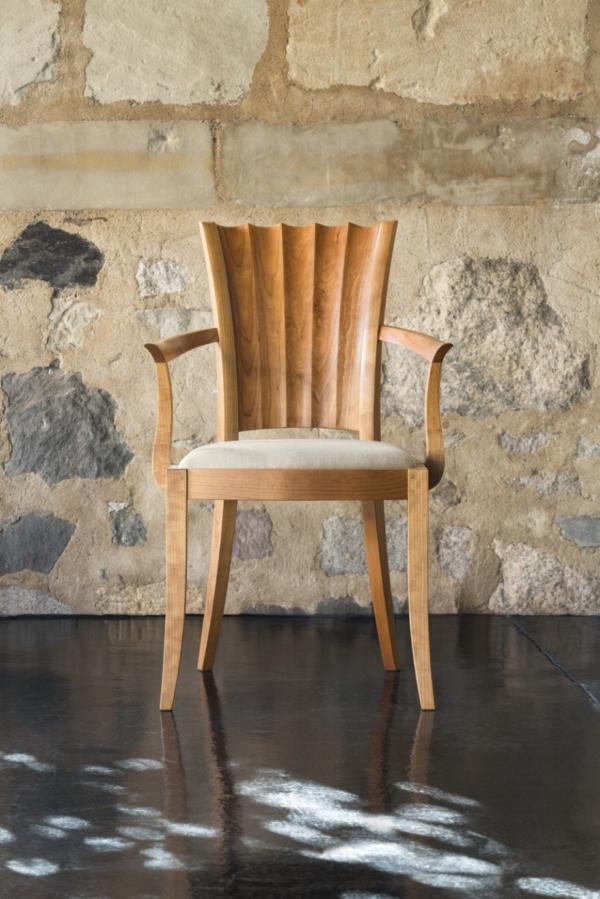 Aria Arm Chair - Cherry