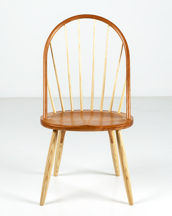 Bowback Chair in Cherry