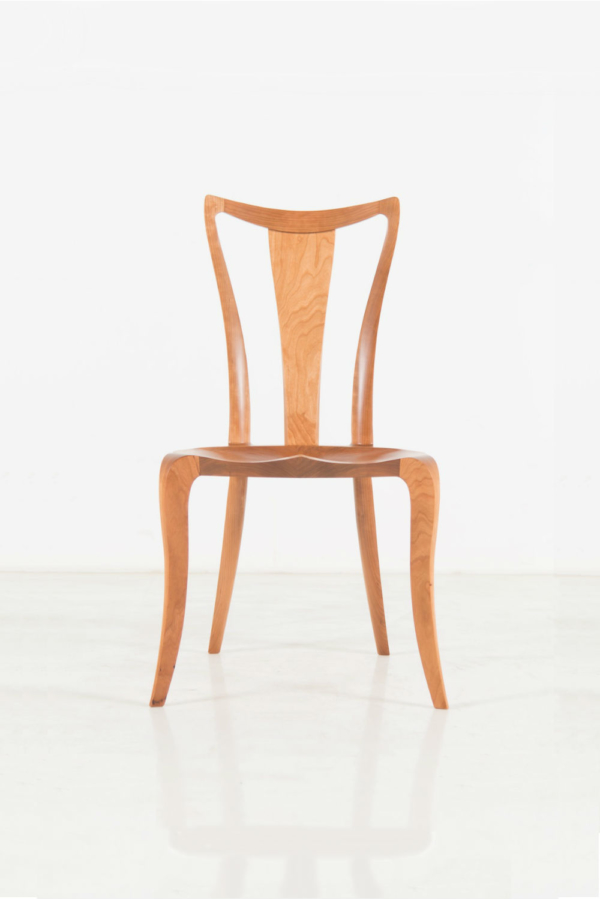 Pasadena Side Chair With Back - Cherry