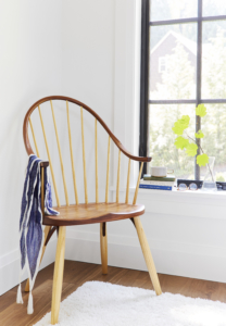 Continuous Arm Chair in Cherry