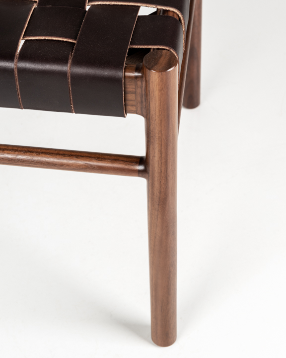 Hancock Side Chair in Walnut