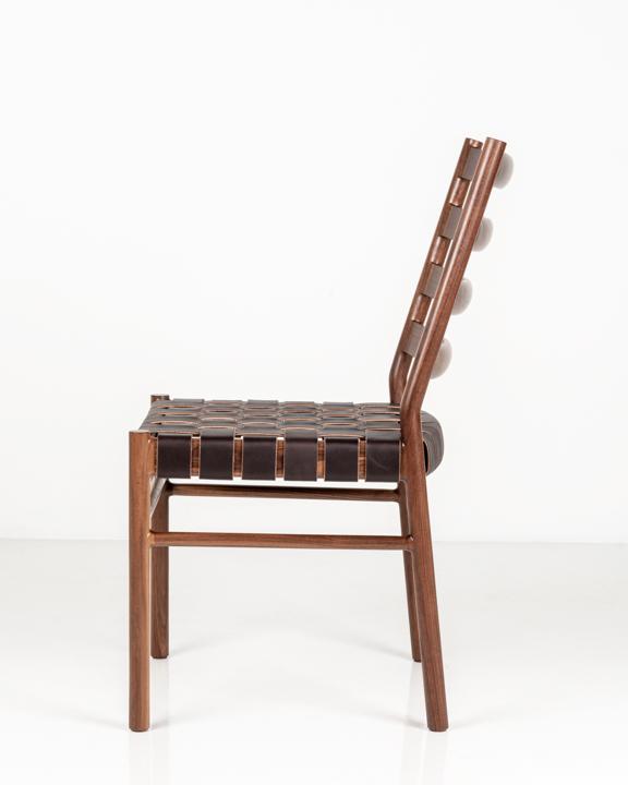 Hancock Side Chair in Walnut